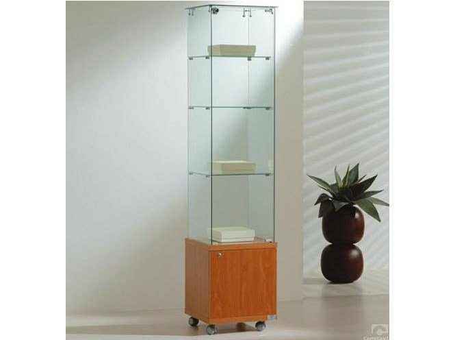 Retail display case with castors VE40180M | Retail display case by Castellani.it