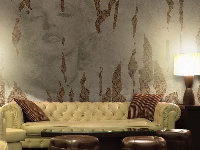 Wall effect vinyl wallpaper ICONOCLAST by GLAMORA