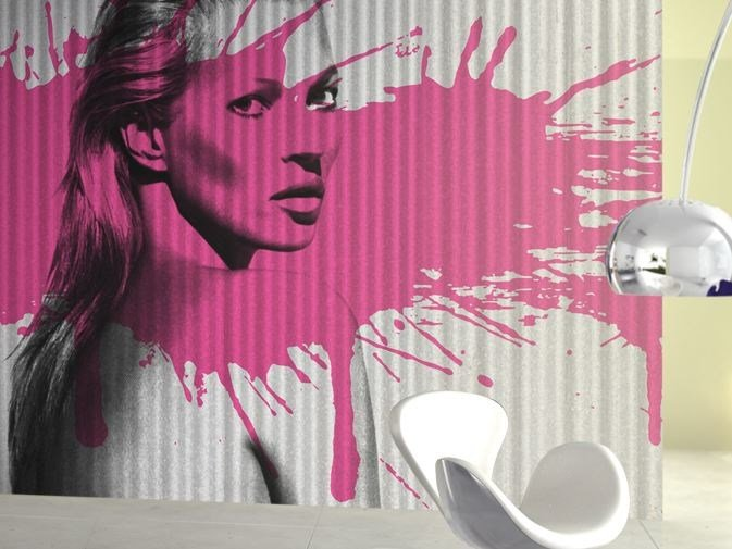 Vinyl wallpaper KISS KISS BANG BANG by GLAMORA