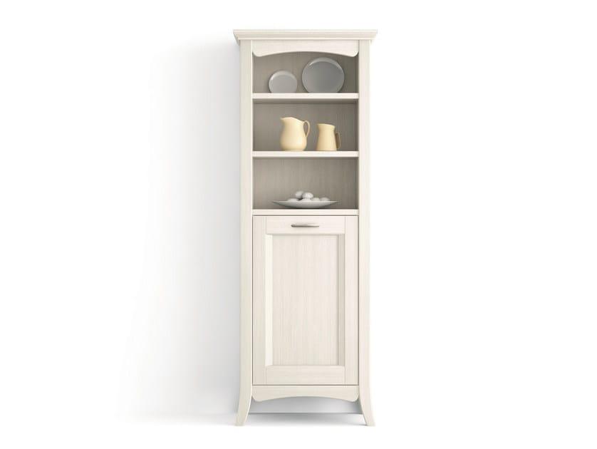 Solid wood bathroom cabinet / highboard ARCANDA | Solid wood highboard by Scandola Mobili