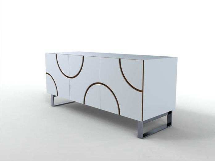 Lacquered sideboard INFINITY | Sideboard by Casamania & Horm