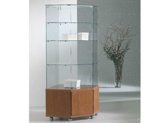 Retail display case with castors VE70180M | Retail display case by Castellani.it