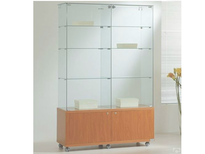 Retail display case with casters VE120180M | Retail display case by Castellani.it