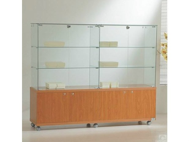 Retail display case with casters VE160140M | Retail display case by Castellani.it