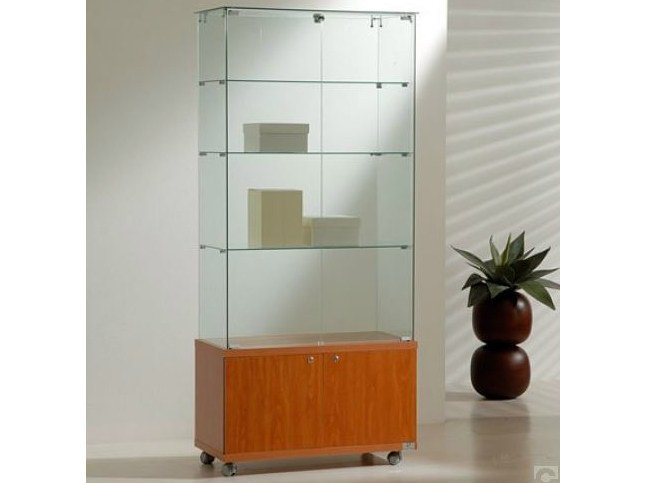 Retail display case with castors VE80180M | Retail display case by Castellani.it