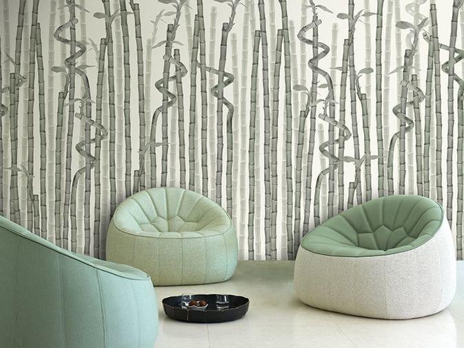 Motif vinyl wallpaper SUSHI LINES by GLAMORA