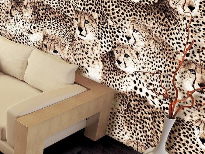 Animalier vinyl wallpaper SAFARI by GLAMORA