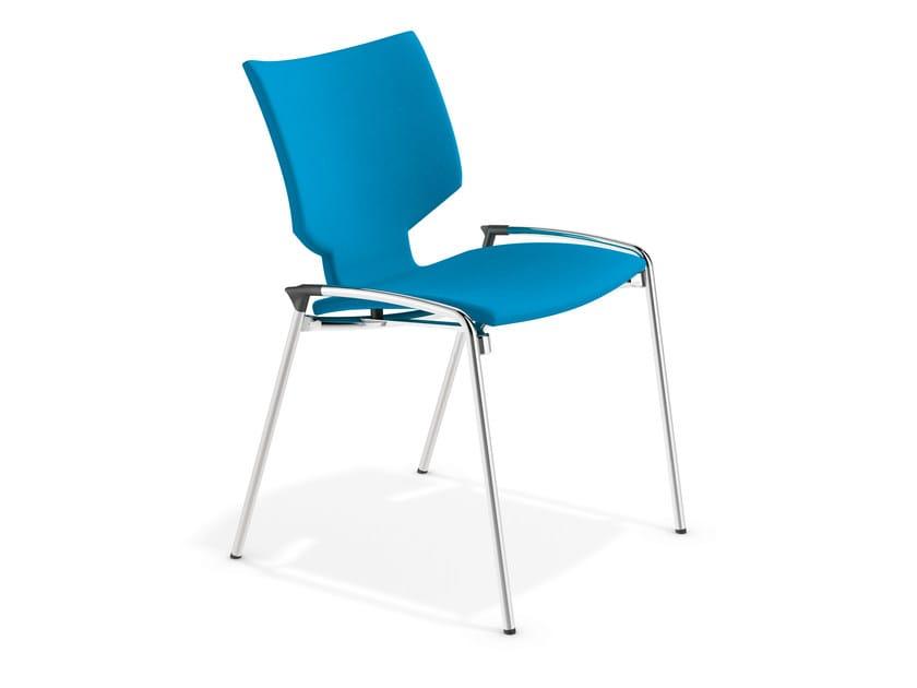 Fabric training chair LYNX I | Fabric chair by Casala