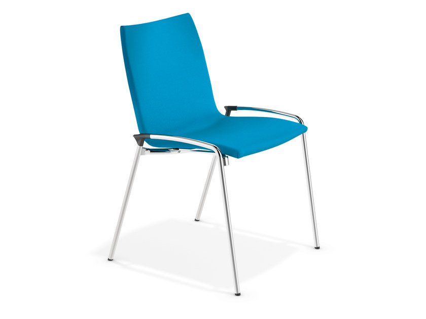 Fabric training chair LYNX II | Fabric chair by Casala