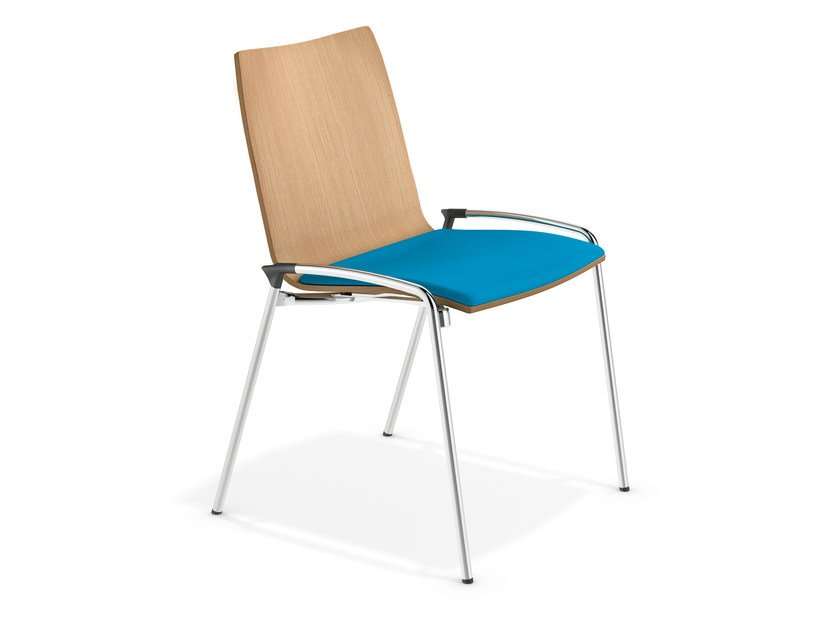 Stackable training chair LYNX II | Stackable chair by Casala