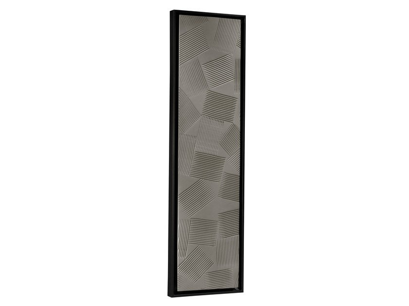 Vertical Olycale® radiator GREENOR JEUX D'OMBRES by Cinier