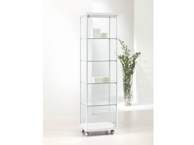 Retail display case with castors VE43/A | Retail display case by Castellani.it