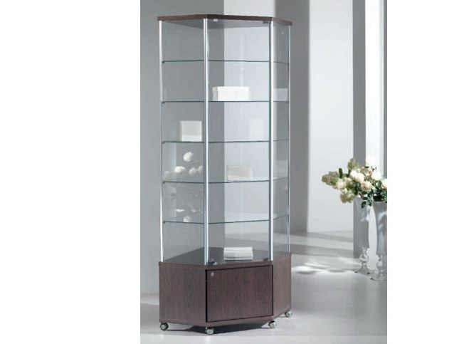 Retail display case with castors VE70/MA | Retail display case by Castellani.it