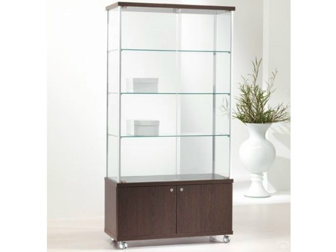 Retail display case with castors VE93/M | Retail display case by Castellani.it