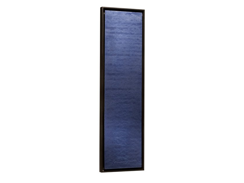 Vertical panel Olycale® radiator GREENOR UNI BLEU by Cinier