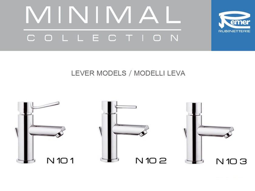 MINIMAL | Miscelatore per doccia con piastra