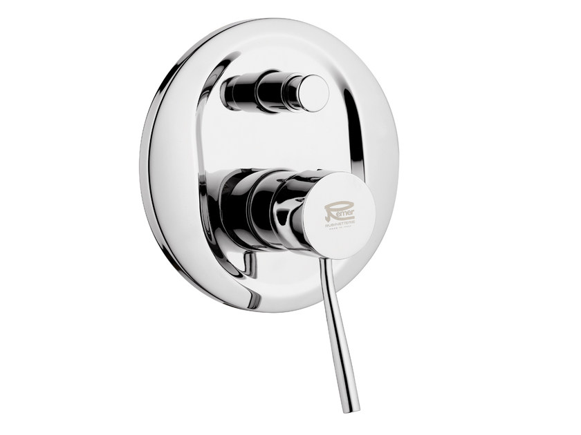 Single handle shower mixer with diverter MINIMAL | Shower mixer by Remer Rubinetterie