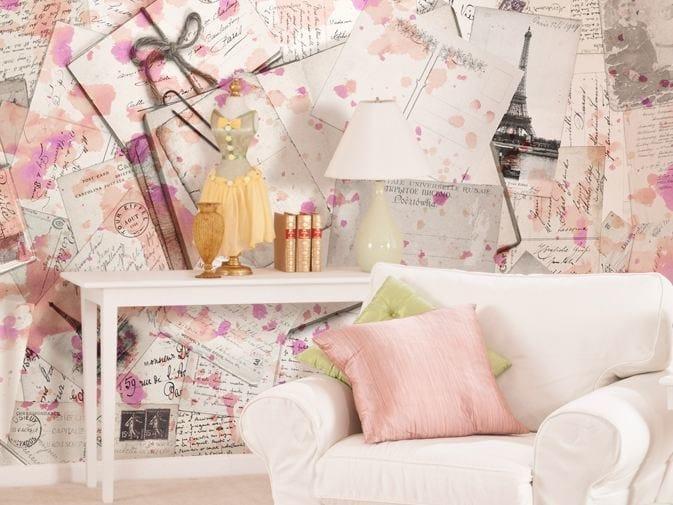 Motif vinyl wallpaper MEMORIES by GLAMORA