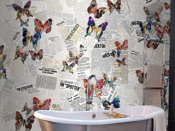 Vinyl wallpaper VANITY NEWS by GLAMORA