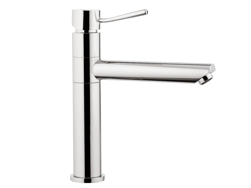 Countertop kitchen mixer tap with swivel spout MINIMAL | Kitchen mixer tap by Remer Rubinetterie