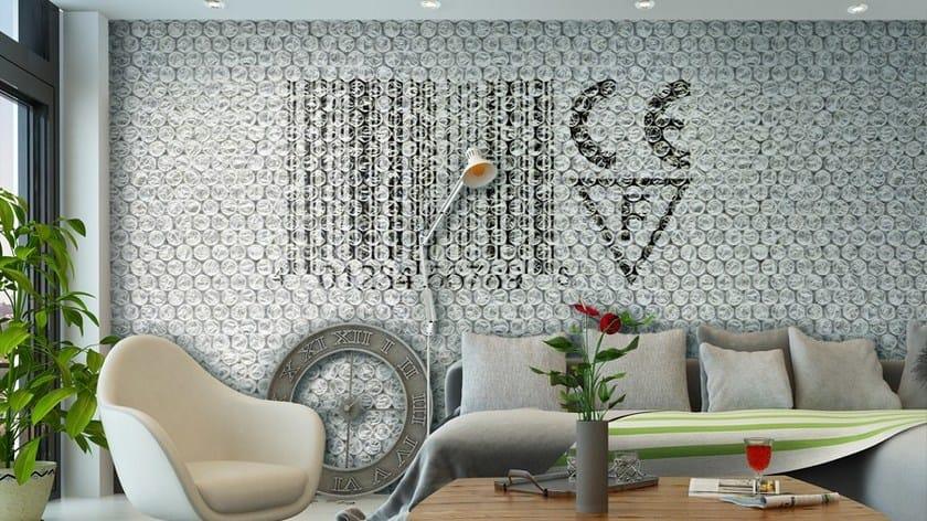 Motif Vinyl Wallpaper BUBBLEWRAP By GLAMORA