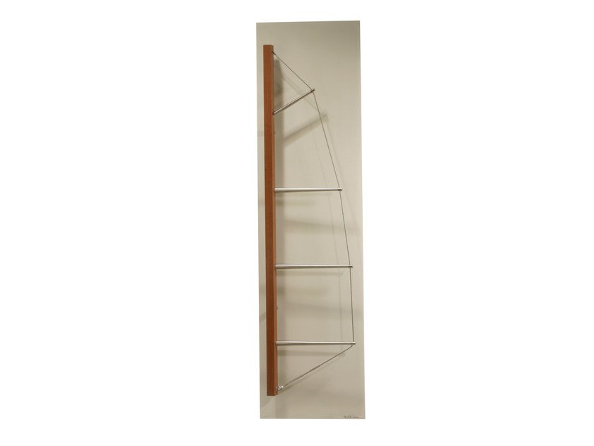 Vertical Olycale® towel warmer YACHT by Cinier