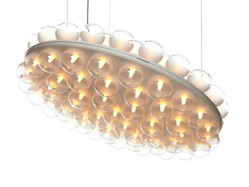 LED direct light pendant lamp PROP LIGHT ROUND by moooi