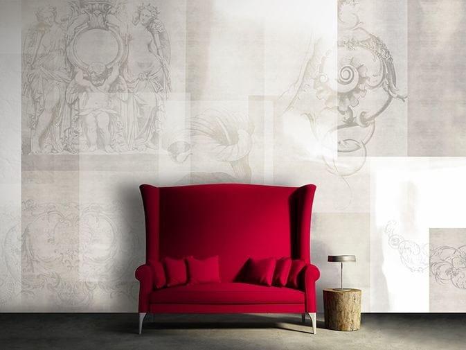 Vinyl wallpaper BLANK by GLAMORA