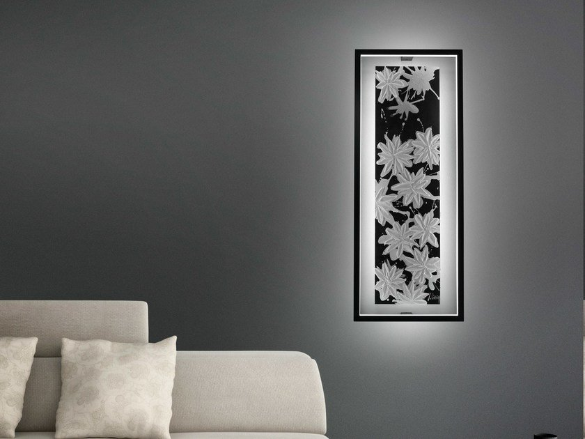 Led indirektlicht wandleuchte hawaii lt by cinier design johanne cinier