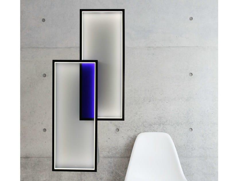 Applique à led pour éclairage indirect duo lt by cinier design