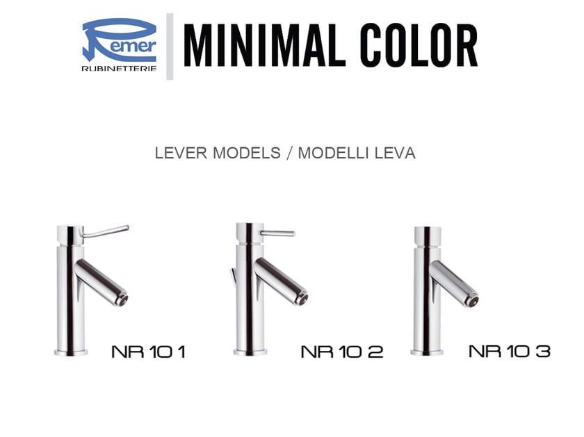 MINIMAL COLOR | Miscelatore per lavabo a LED
