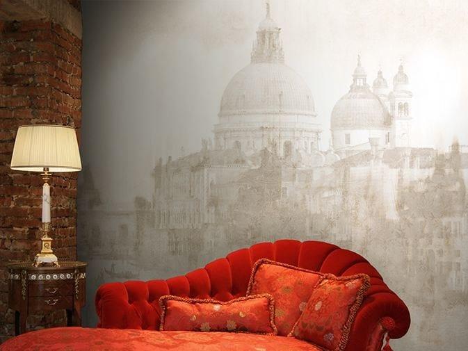 Panoramic vinyl wallpaper VENICE LIGHTS by GLAMORA