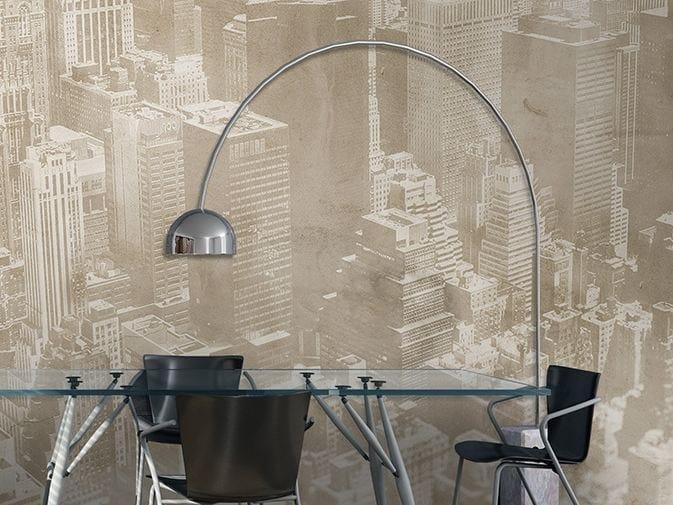 Panoramic vinyl wallpaper GOLDEN AGE by GLAMORA