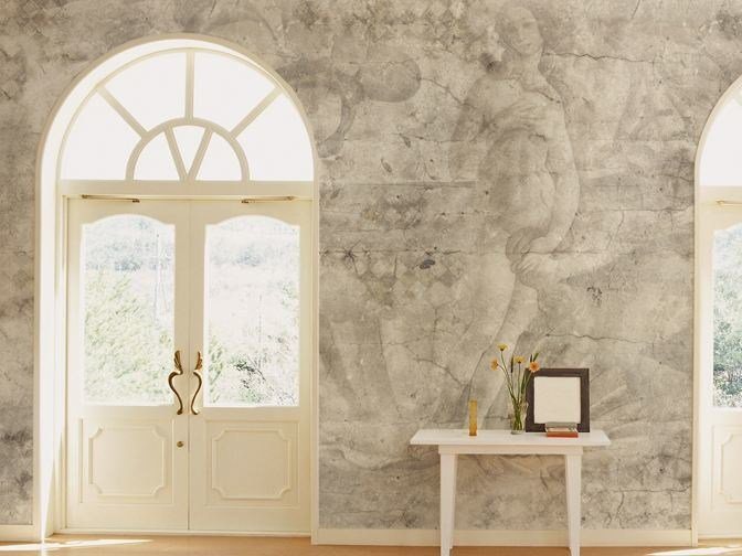 Wall effect vinyl wallpaper CENTURY by GLAMORA