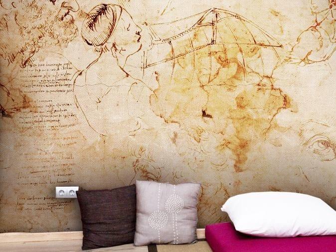 Vinyl wallpaper MASTERCLASS by GLAMORA