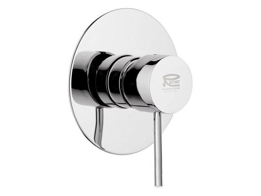Chromed brass shower mixer MINIMAL COLOR | Shower mixer by Remer Rubinetterie