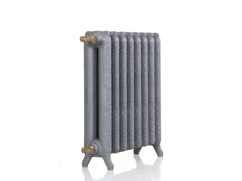 Classic style floor-standing cast iron decorative radiator LEON by Cinier