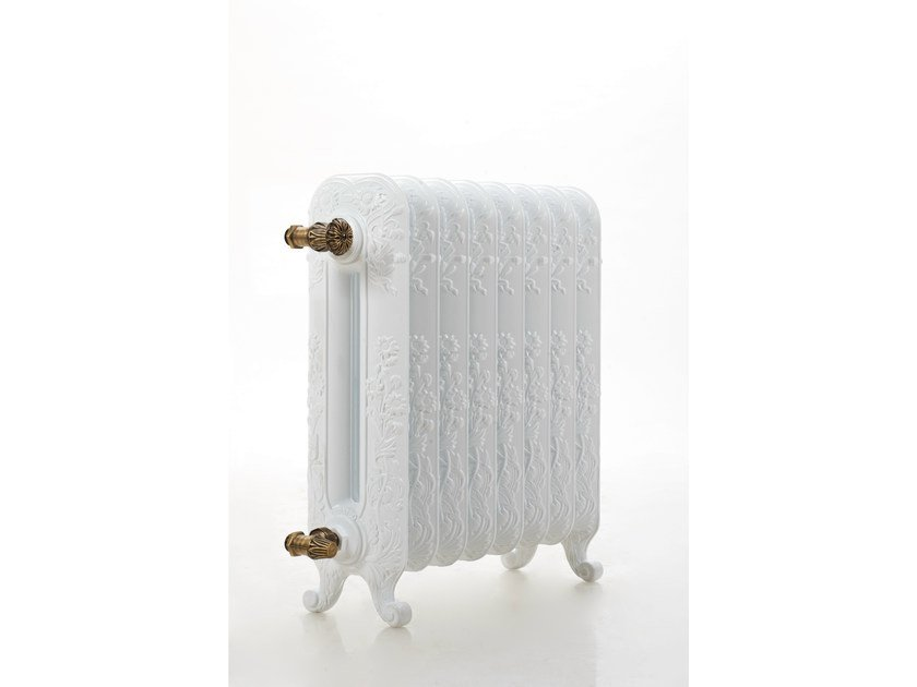 Floor-standing cast iron decorative radiator ROSE by Cinier