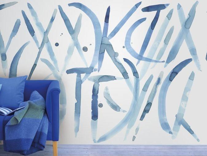 Motif vinyl wallpaper HERE & NOW by GLAMORA