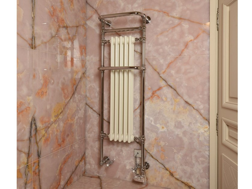 Wall-mounted cast iron towel warmer VICTOR S1R by Cinier