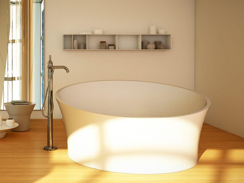 Round bathtub EVOQUE TUB by DIMASI BATHROOM