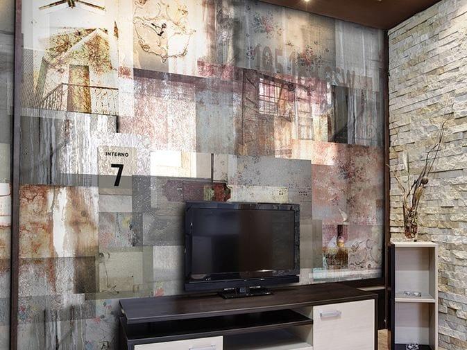 Motif vinyl wallpaper SEVENTH WONDER by GLAMORA
