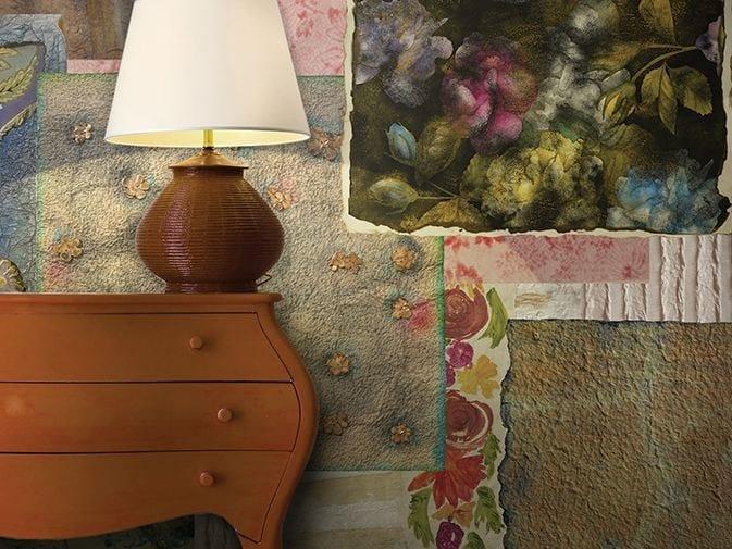 Motif vinyl wallpaper SUGAR & SPICE by GLAMORA
