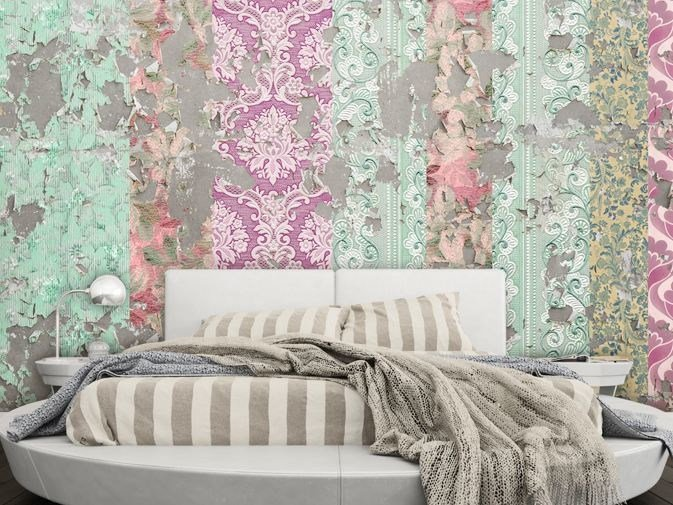 Damask Vinyl Wallpaper Forever Now By Glamora