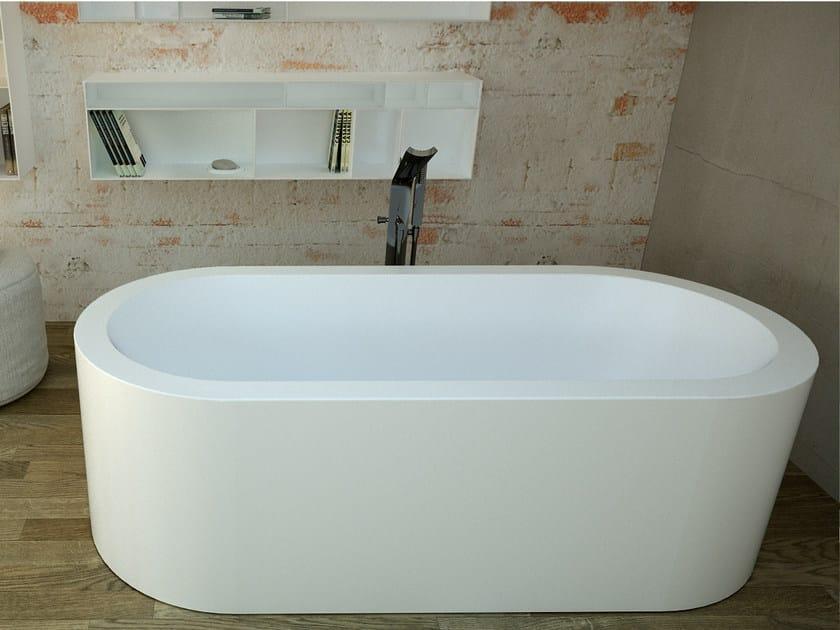 Oval bathtub SAPPHIRE TUB by DIMASI BATHROOM