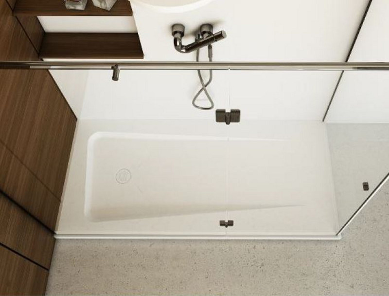 Rectangular shower tray ZERO by DIMASI BATHROOM