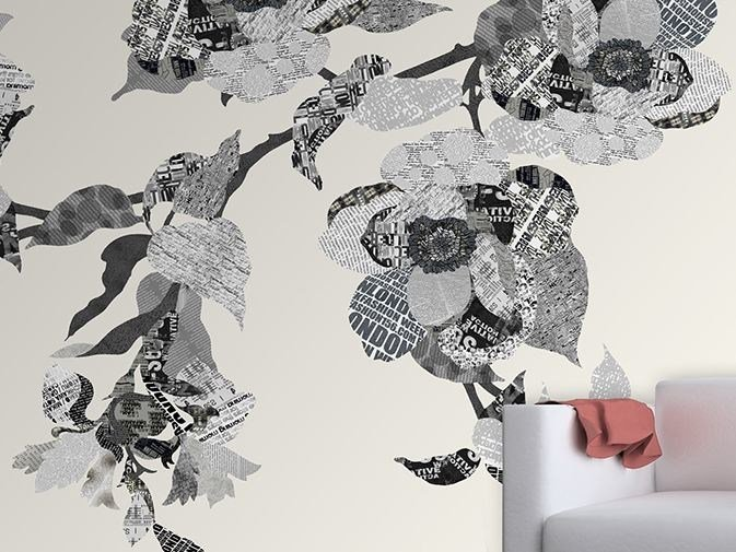 Vinyl wallpaper with floral pattern X-PRESSION by GLAMORA