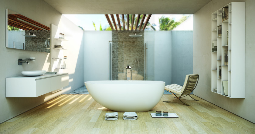Vasca da bagno ovale ruby tub by dimasi bathroom - Vasca da bagno ovale ...