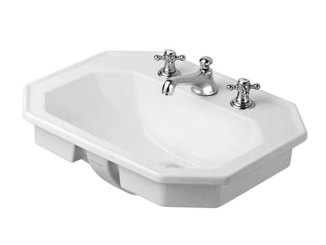 Inset ceramic washbasin 1930   Inset washbasin by Duravit