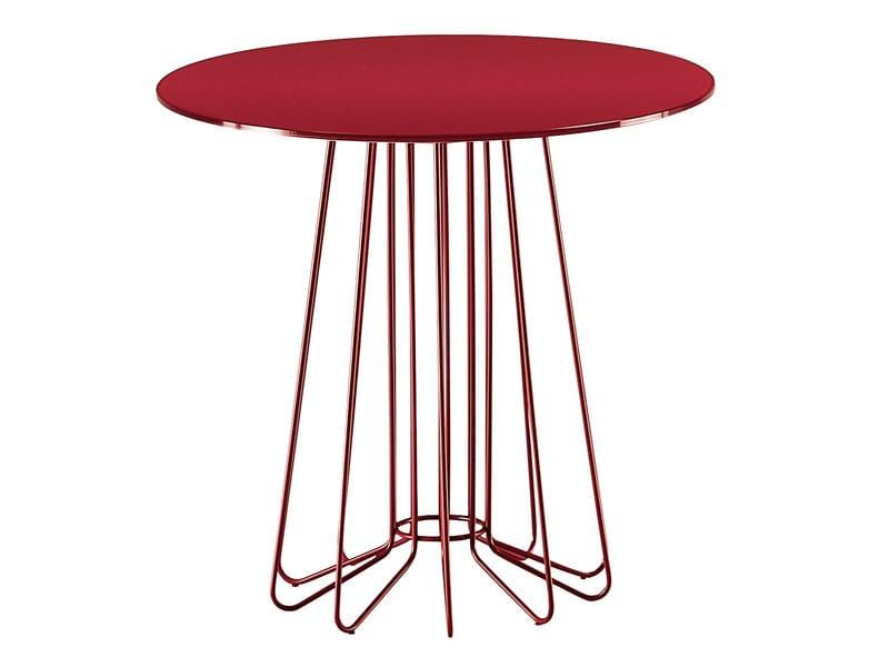 Small table SMALLWIRE by Zanotta